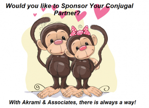 sponsor your conjugal partner