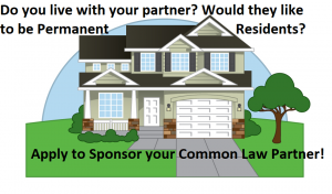 Application to Sponsor Your Common Law Parter
